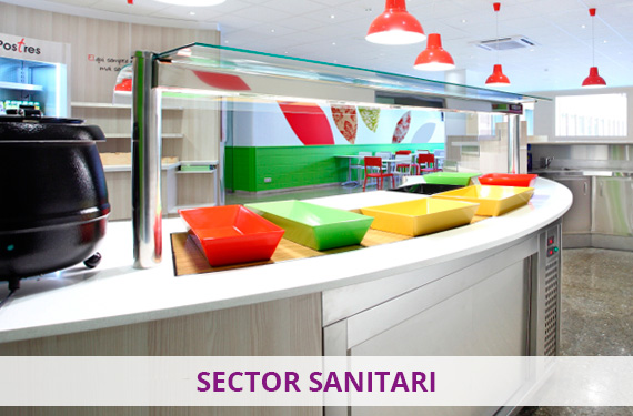 Cuines Buffets Show cooking Hospitals i sector sanitari