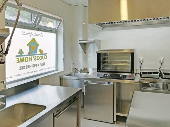 Cocina Industrial Profesional Escuela Infantil Cucos Home Madrid - SERHS Projects