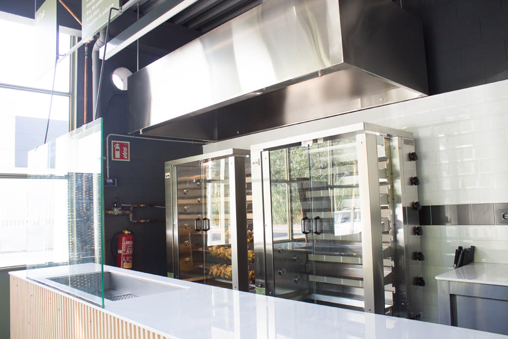 Produccion Asador Take Away Tordera