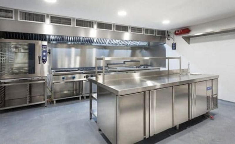 Cocina Industrial Hotel Sa Riera · SERHS Projects