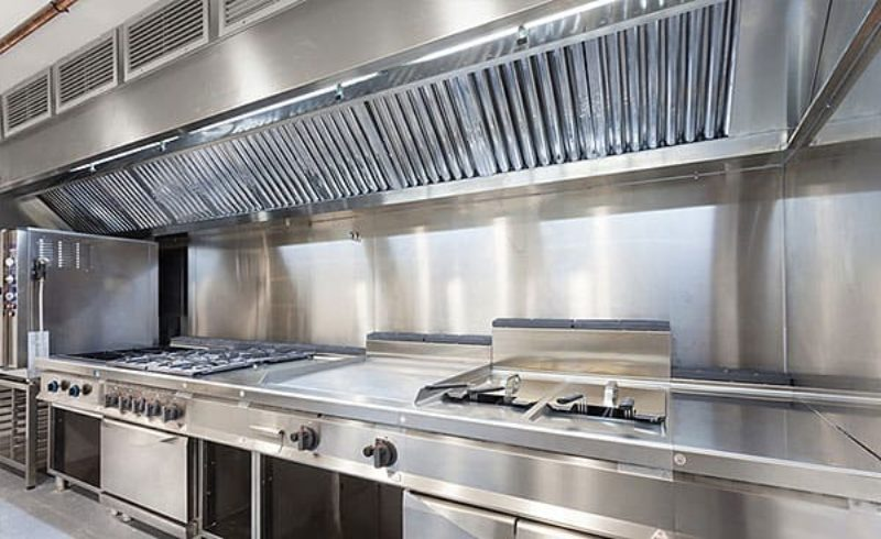 Cocina Industrial Profesional · SERHS Projects