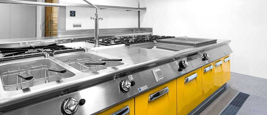 Cocina Industrial Profesional Promenade · SERHS Projects
