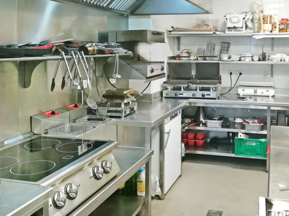 Cocina Profesional Cristina Oria Madrid - SERHS Projects