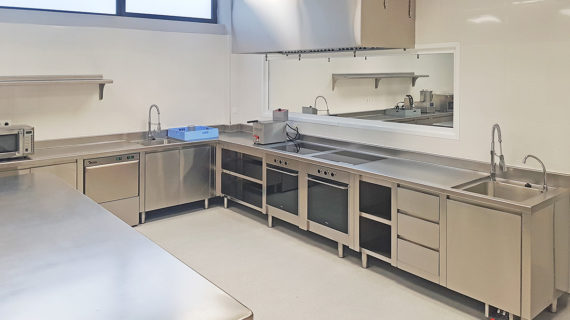 Cocina Industrial Profesional Completa Universidad Europea de Madrid - SERHS Projects
