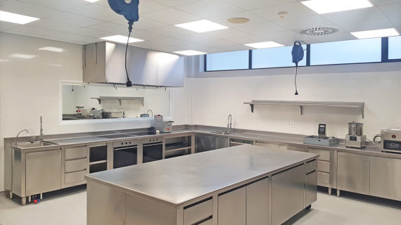 Cocina Industrial Profesional Universidad Europea de Madrid - SERHS Projects