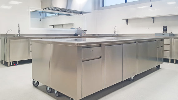 Cocina Industrial Universidad Europea de Madrid - SERHS Projects