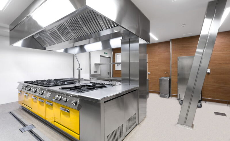 Cocina Industrial Profesional Hotel Promenade · SERHS Projects
